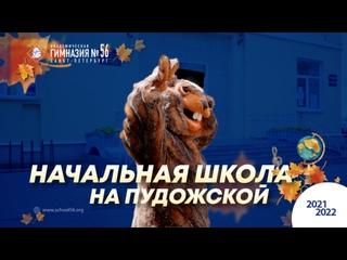 Начальная школа на Пудожской. Бобр Полихроний. 2021