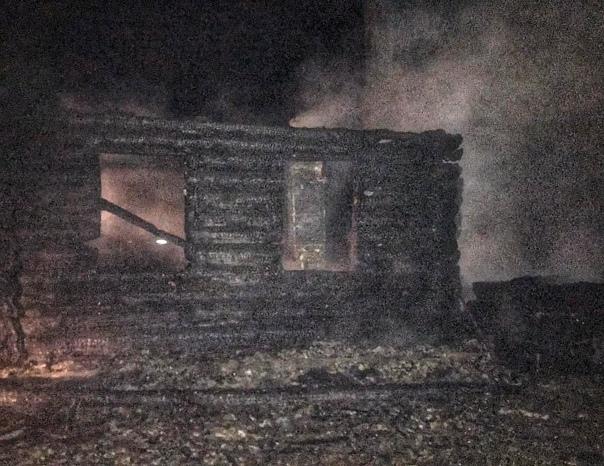 В Невельском районе на пожаре погиб мужчинаПричино...