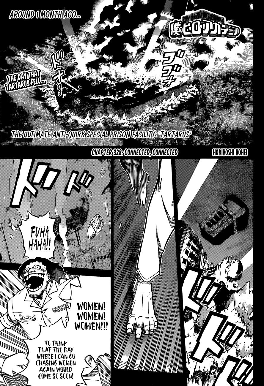 My Hero Academia Chapter 328, image №1