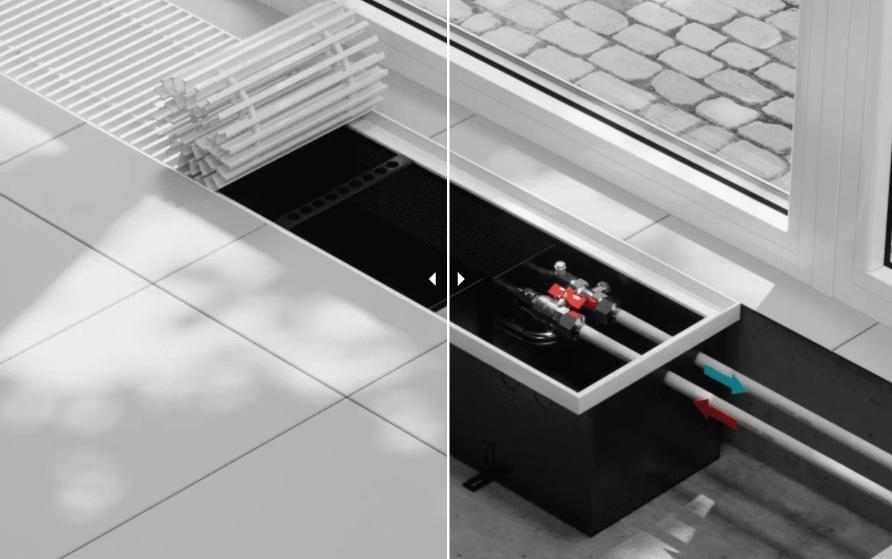 VITRON BK глубина 300 мм ширина 260-300-360