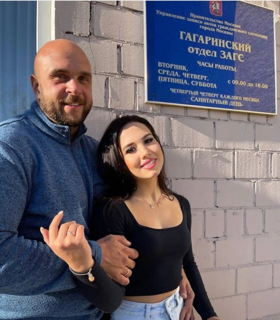 Настя Роинашвили и Глеб Жемчугов подали заявление в ЗАГС