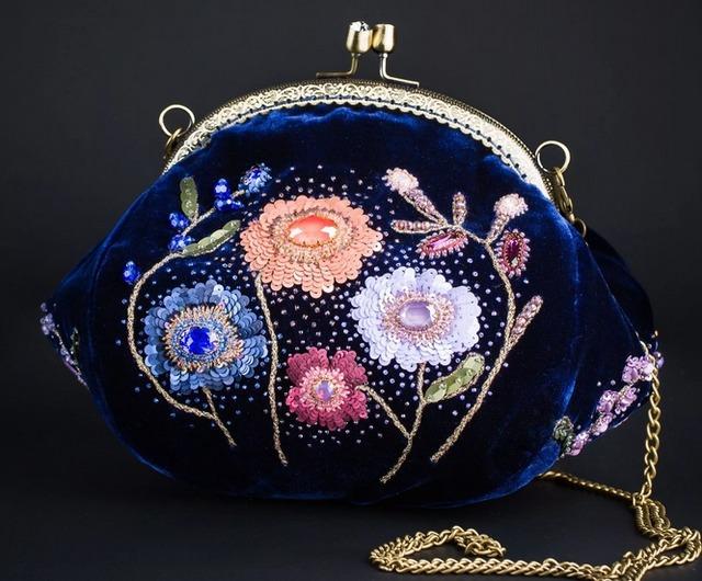 Как сшить сумочку с фермуаром своими руками, Как сшить кошелек с фермуаром своими руками,