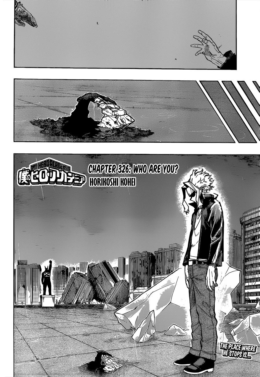 My Hero Academia Chapter 326, image №3