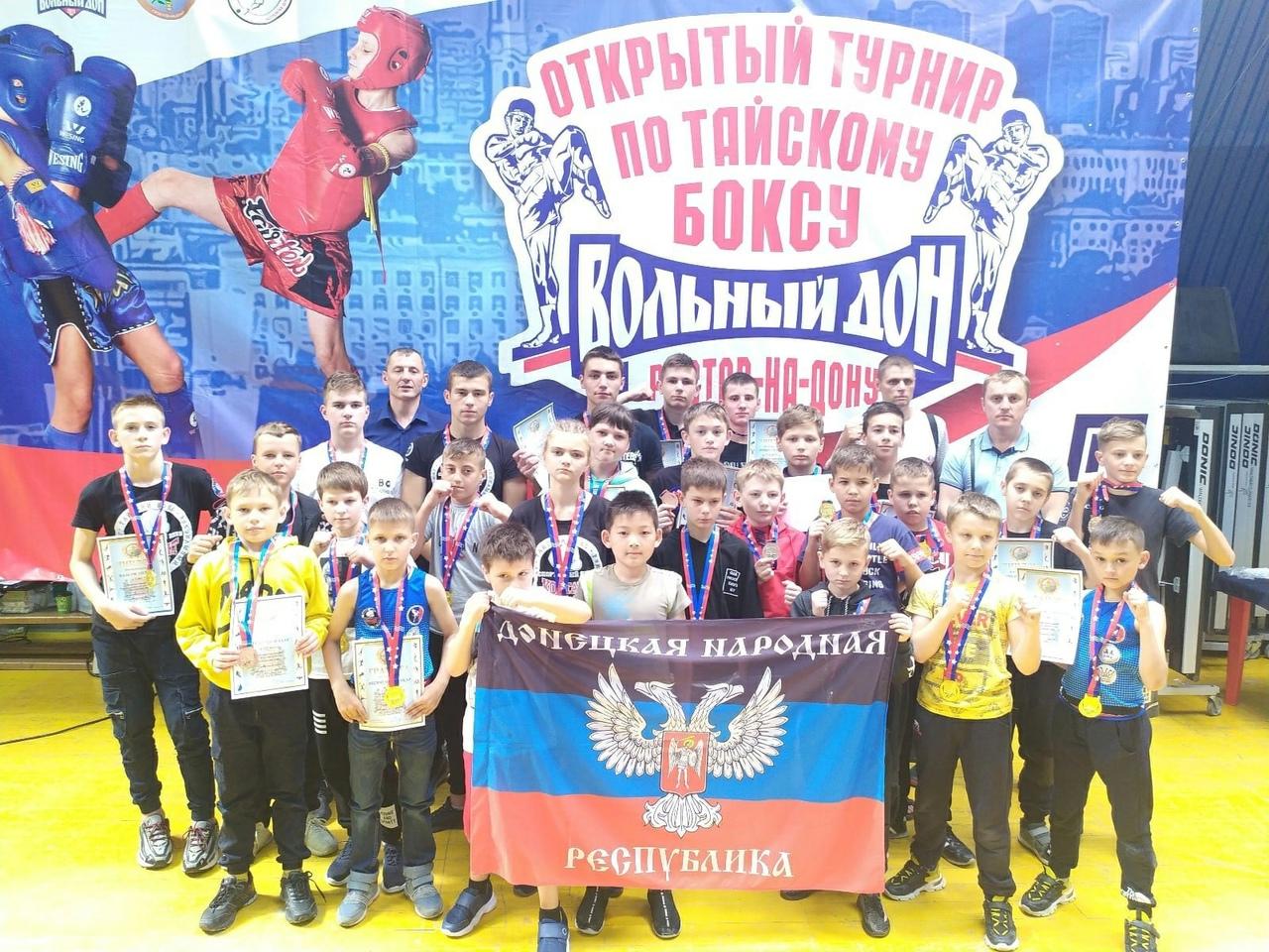Сборная ДНР по тайскому боксу привезла победу из Ростова