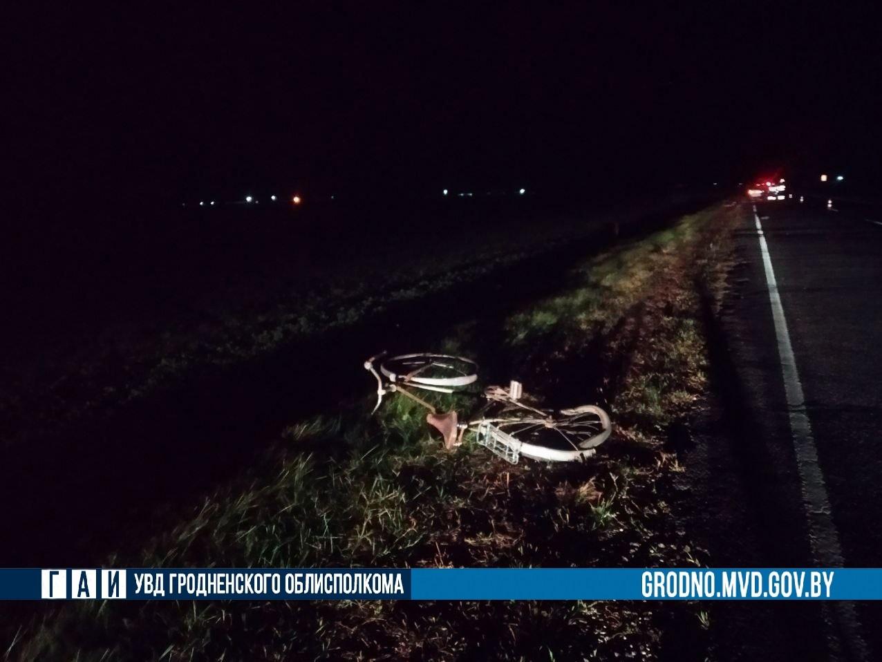 ДТП c летальным исходом под Щучином: Skoda во время обгона снесла велосипедиста