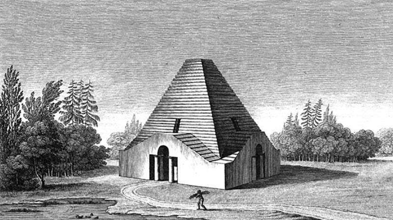 Загадка архитекторов Этьена Булле и Клода Леду идеи которому давали «сущности выходящие из тени», изображение №6