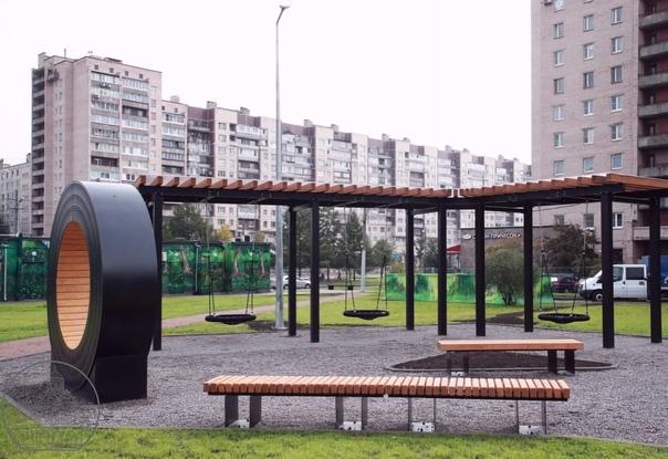 На проспекте Большевиков на месте пустыря появился...