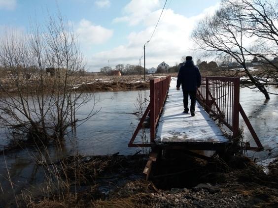 Уровень воды в реке Каменка снизился до 1 метра!