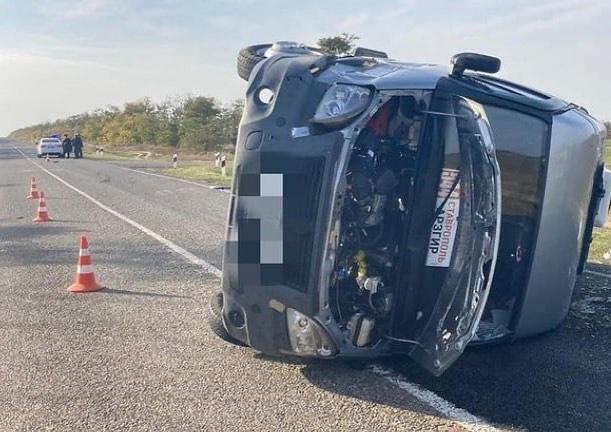 В Туркменском округе перевернулась маршрутка — пострадали 6 человек.   Нарушил водитель ГАЗели, в салоне которой... [читать продолжение]