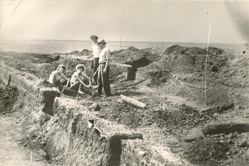 Археологические раскопки Селиксенского могильника, 1959 г.
