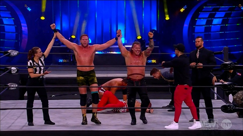 AEW Dynamite и NXT 25.11.20, изображение №5