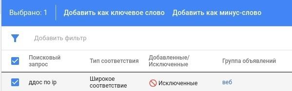 Как создать исключения для динамических поисковых объявлений в Google., изображение №5