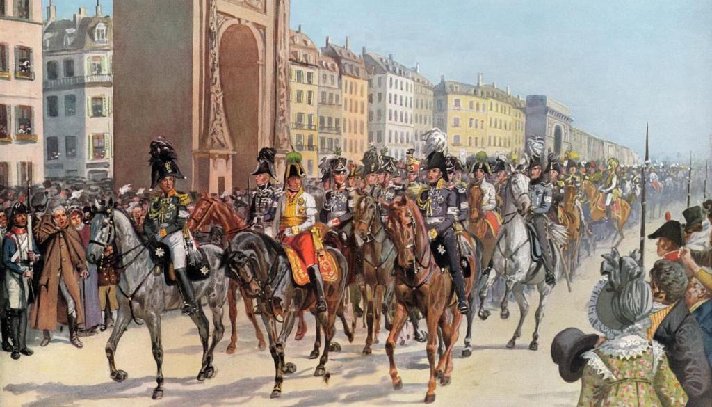 Взятие Парижа