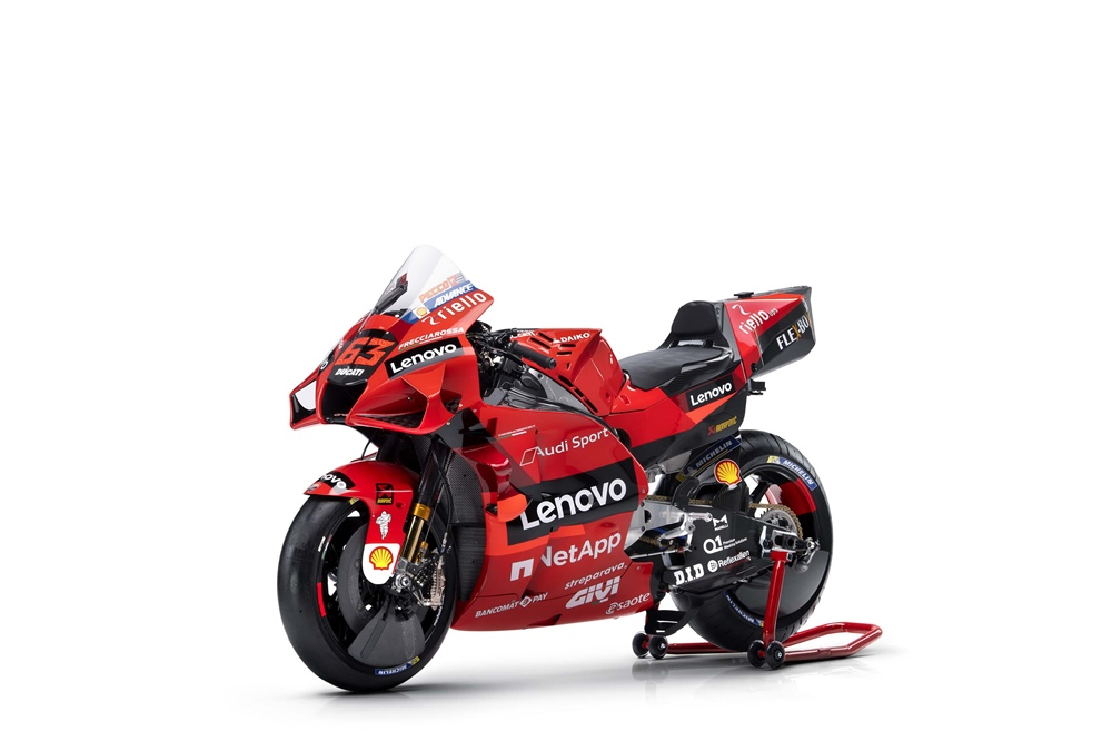Прототип Ducati Desmosedici GP21 2021