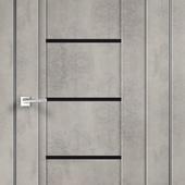 Дверное полотно NEXT 3 Муар светло-серый