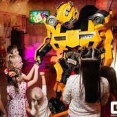 Робот Бамблбли поздравление/сюрприз/живая открытка (15 мин)