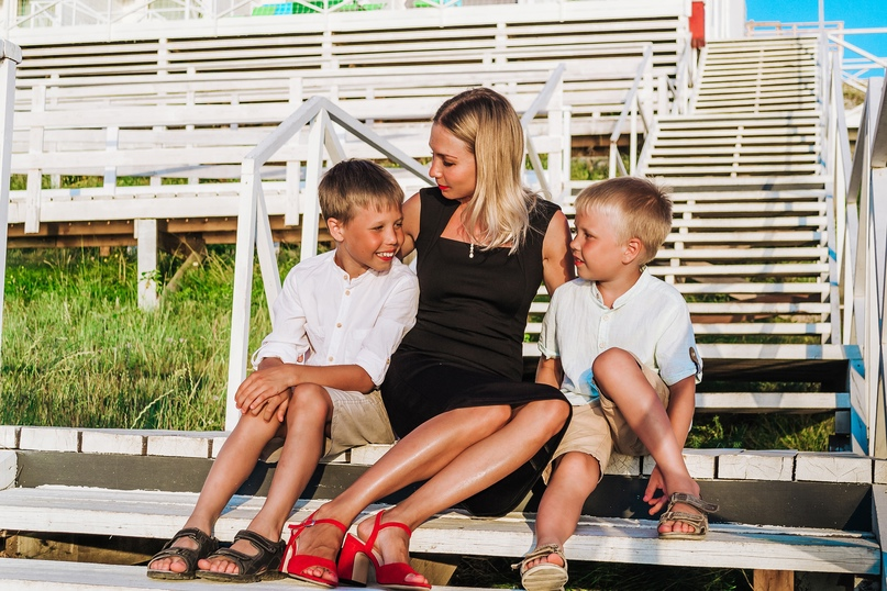 Семейная фотосессия в Щелкино - Фотограф MaryVish.ru
