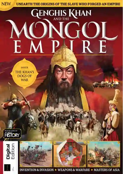 All About History - Genghis Khan   Mongol Empire 1st Edition  2021