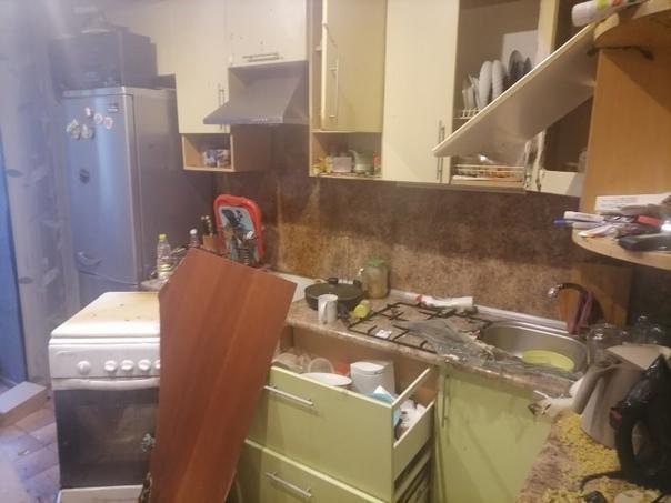 В витебской многоэтажке вспыхнул газ и ударной волной вынес окна в квартире. Ее хозяин в больнице