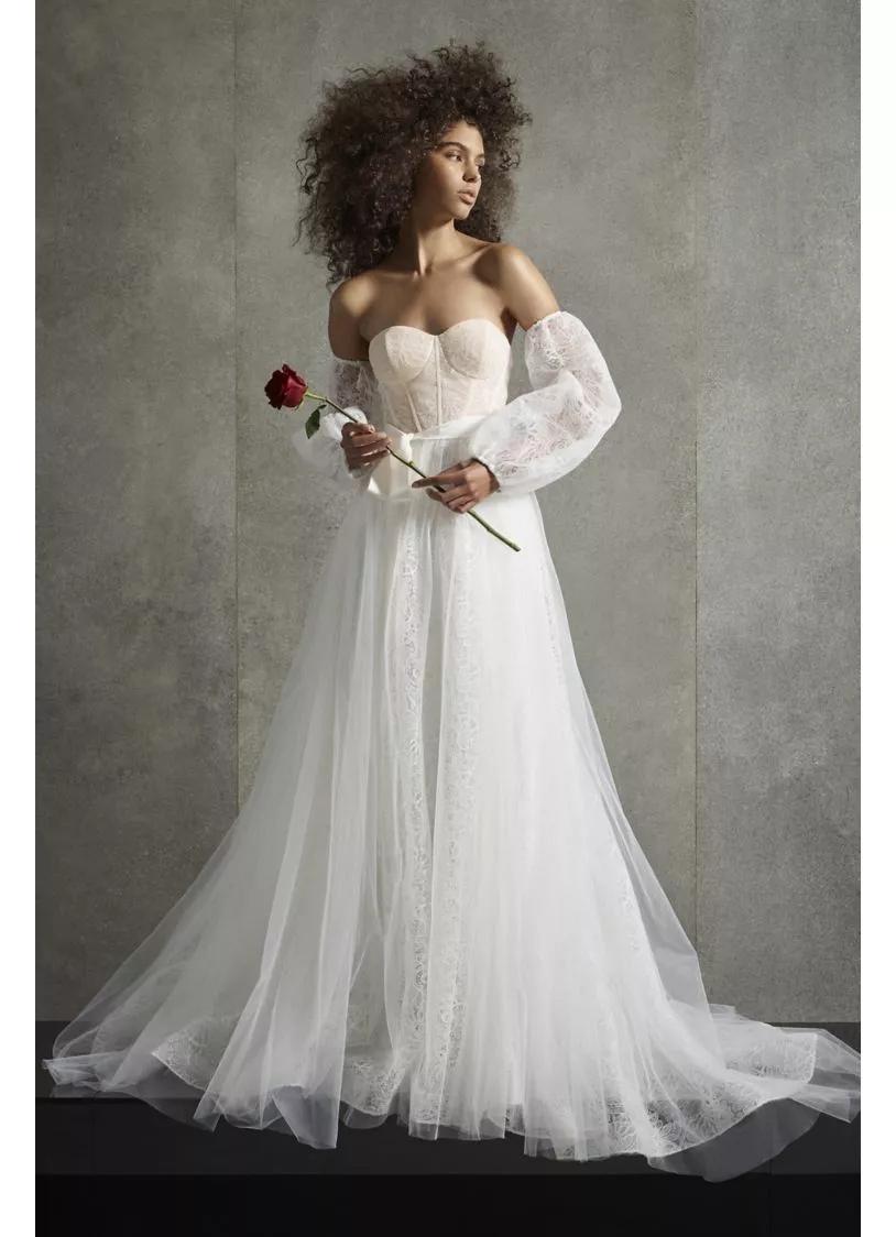 WJivvoC464k - 21 романтическое платье для невесты в 2021 свадебном сезоне