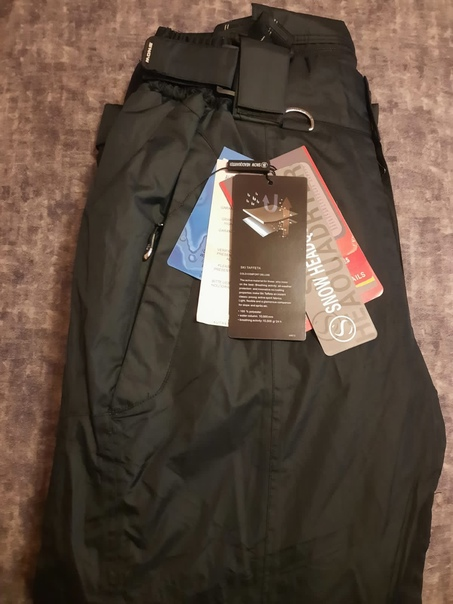Новые горнолыжные утепленные брюки по низким ценам...
