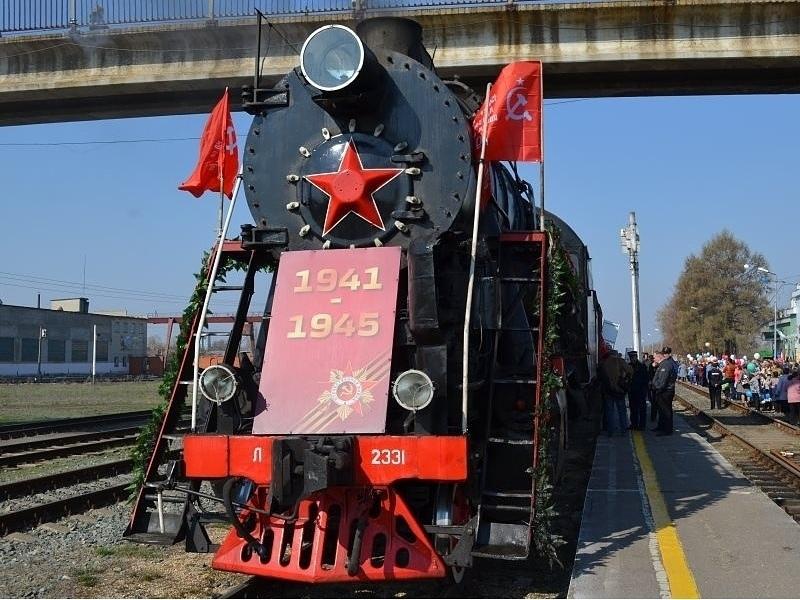 Ретропоезд «Воинский эшелон» прибудет в Петровск 22 мая