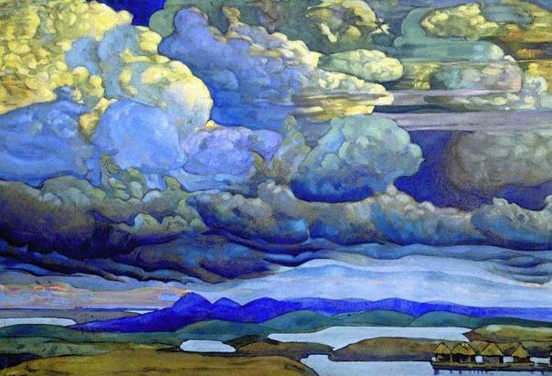 «Небесный бой», Николай Константинович Рерих