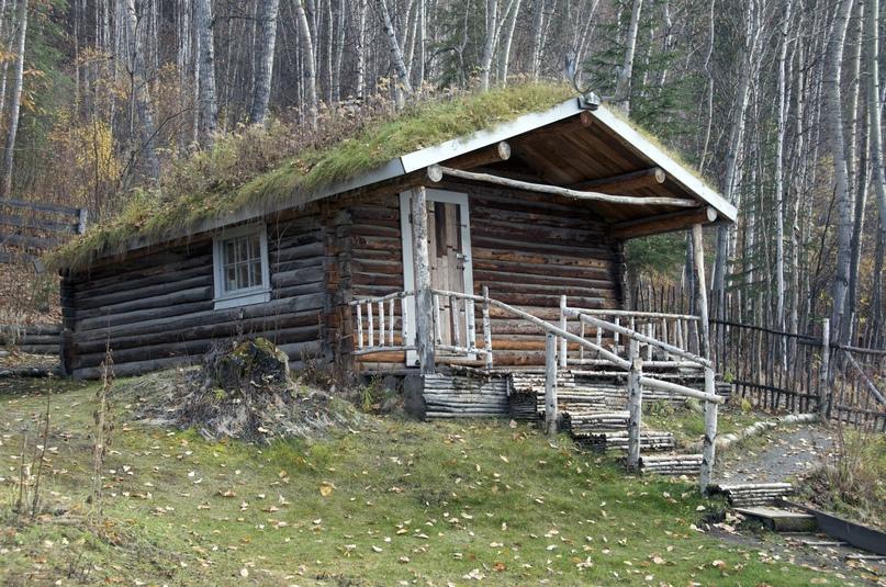 Брусовой дом в стиле рустик или дом первопроходца, изображение №4
