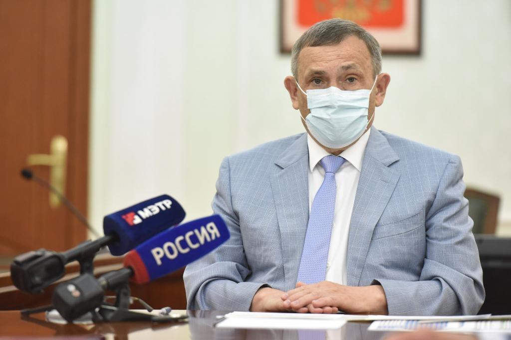 Глава Марий Эл провёл совещание по строительству школы и роддома в городе Волжске