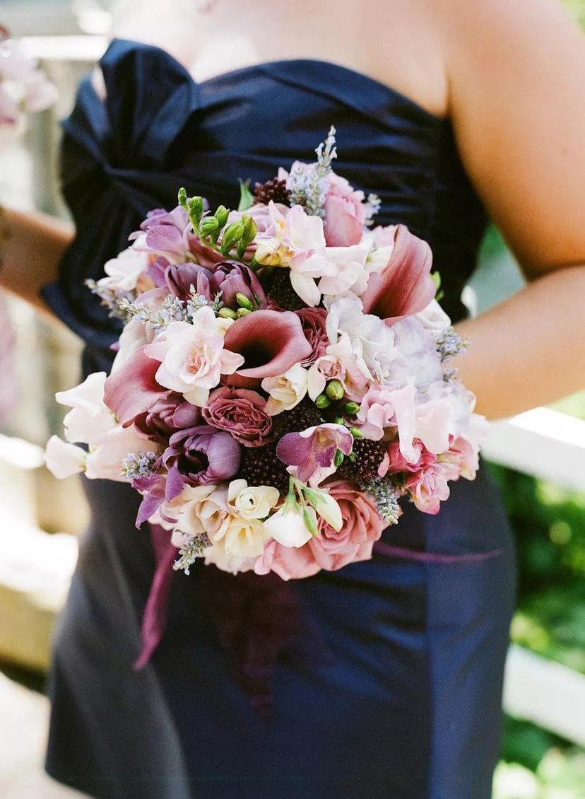 TOY5Hjv sSc - Букет невесты из тюльпанов
