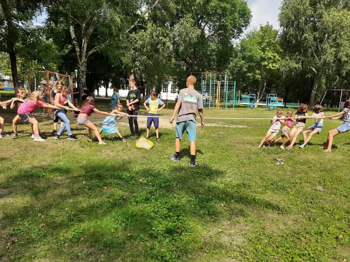 В лагере имени Аркадия Гайдара прошли спортивные соревнования