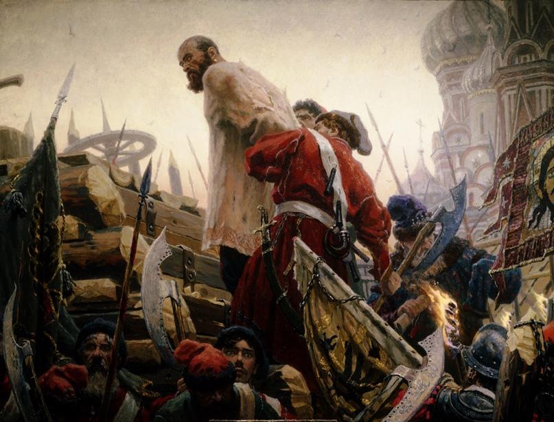 🌿350 лет назад🌿, 24 апреля 1671 г, Степан Разин был выдан царским воеводам и вскоре казнен