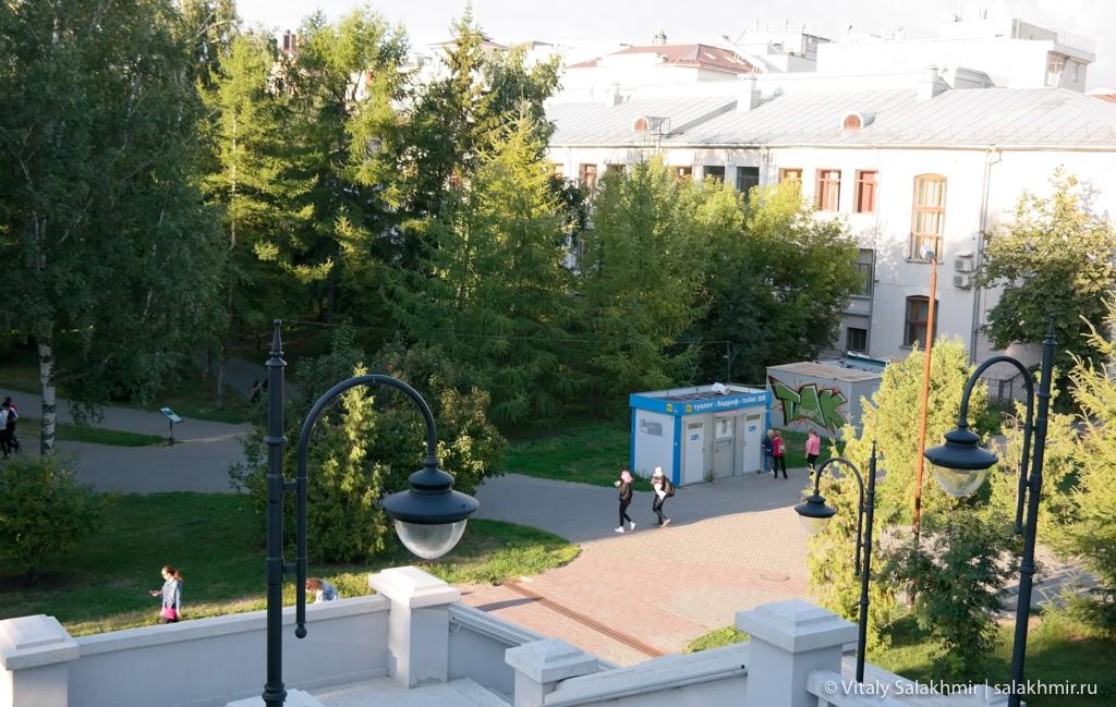 Ленинский парк в центре Казани, Казань 2020