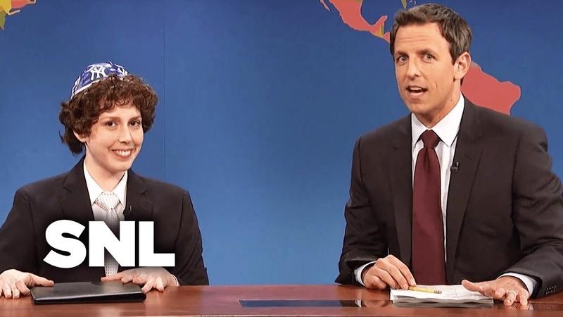 Weekend Update: Jacob the Bar Mitzvah Boy - SNL