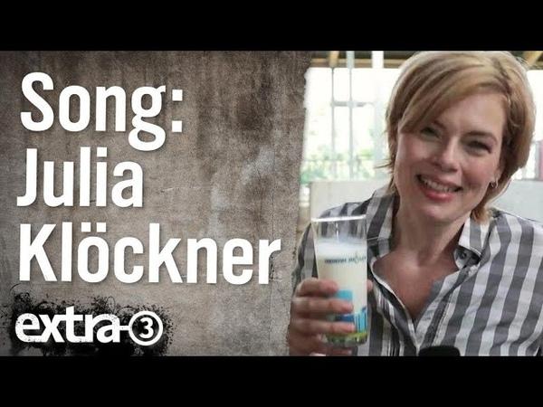 Die Lobby-Glucke von der Bauerntruppe - Song für Julia Klöckner   extra 3   NDR