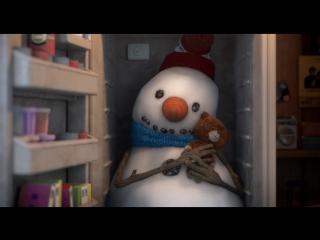 Рождественский мультик о снеговике-долгожителе от сети кинотеатров Cineplex