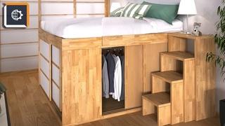 6 примеров прекрасной мебели-трансформера, или Как орг-ть пространство в квартире