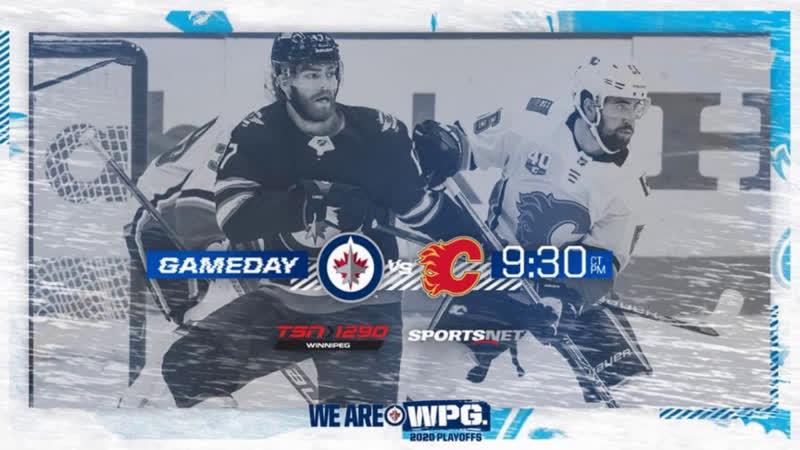 НХЛ НА РУССКОМ П0 19 20 Игра 4 ая на выбывание Флэймс Джетс