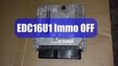 EDC16U1 отлключить иммобилайзер с помощью FVDI