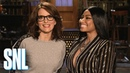 Tina Fey Pitches Nicki Minaj a Sketch Idea - SNL