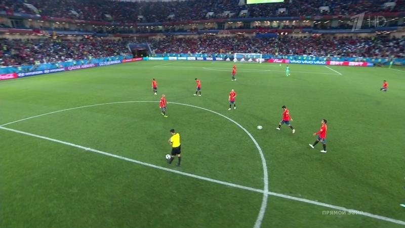 Чемпионат мира 2018. Группа B. 3-й тур. Испания - Марокко HDTVRip 720p