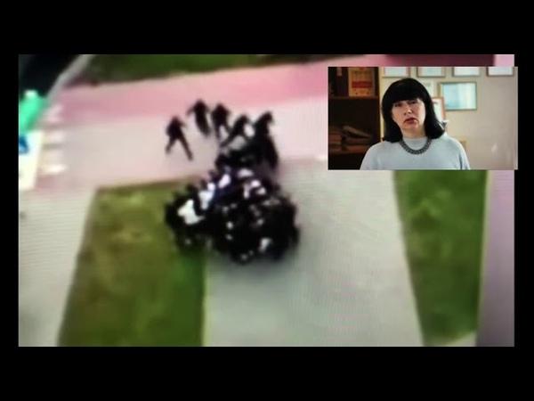 Директор 196 школы Минска записала видеообращение со словами благодарности милиции