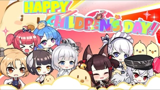 Azur Lane The Happy Dorm - Happy International Children's Day!