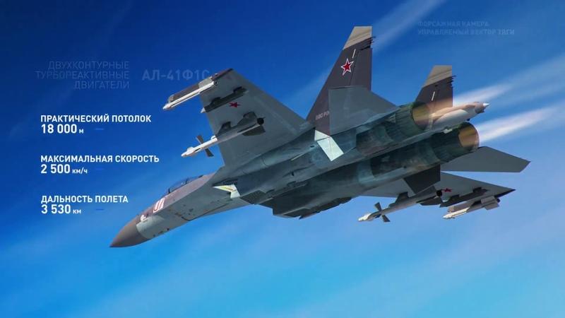 Истребитель СУ 35 fighter SU 35