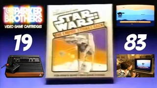 STAR WARS: THE EMPIRE STRIKES BACK Video Game - Parker Brothers 1983 - Atari 2600