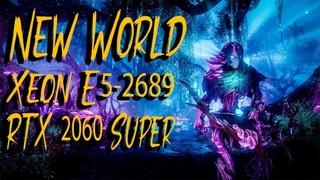 New World Beta test - RTX 2060 Super стрим 1440p. Играю на процессоре Xeon E5-2689  #6