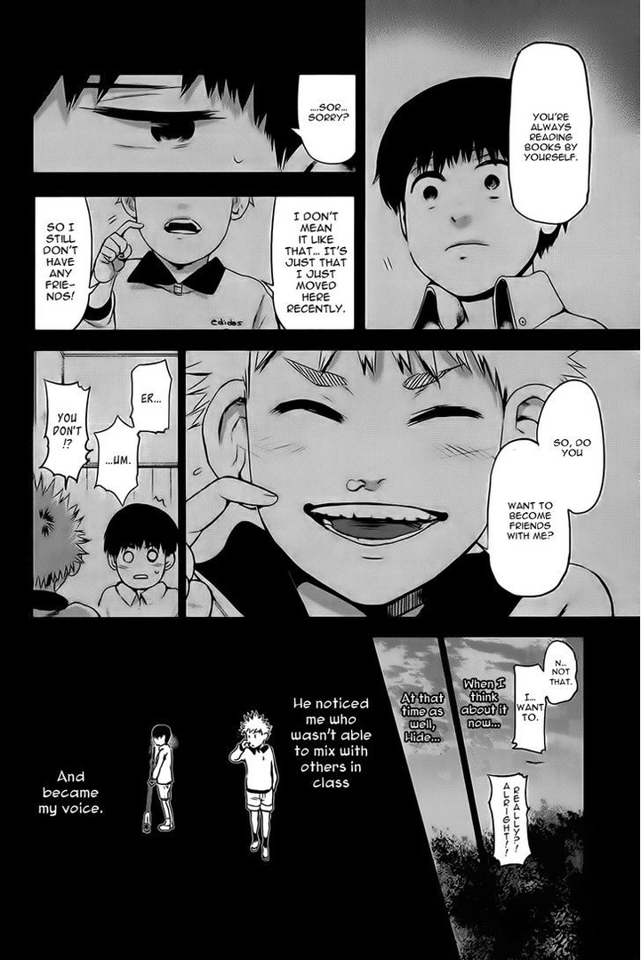 Tokyo Ghoul, Vol.1 Chapter 8 Kagune, image #17