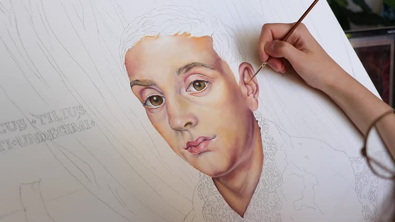 THE GRAND BUDAPEST HOTEL PAINTING BOY WITH APPLE FROM FILMКартина из фильма Отель Гранд Будапешт