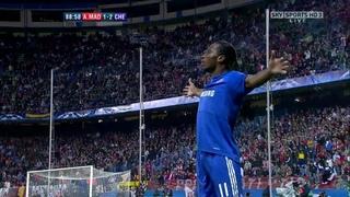 Didier Drogba Vs Atletico Madrid (UCL) (Away) 2009-10 HD 720p By YazanM8x
