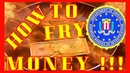 WHAT HAPPENS IF YOU FRY MONEY EXPERIMENT INTERESTING TEST HOW TO COOK MONEY ON FRYING PAN SECRET DIY